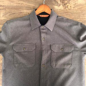 Men's Quick-Dry Flannel Shirt - Charcoal